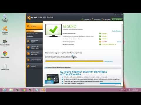 como registrar avast free antivirus gratis