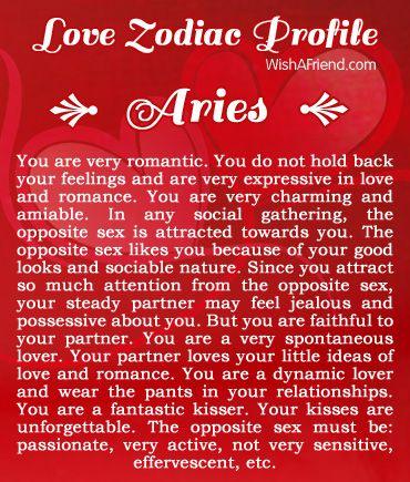 Aries lovelife