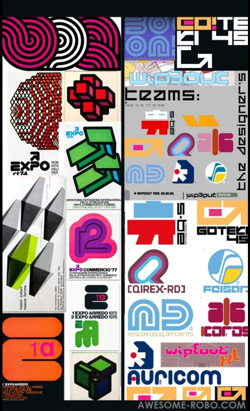 Design envy wipeout the designers republic typography for Design republic