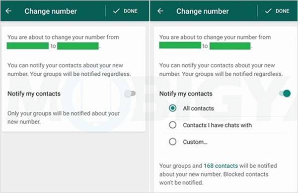 How to Change WhatsApp Phone Number on Android Whatsapp