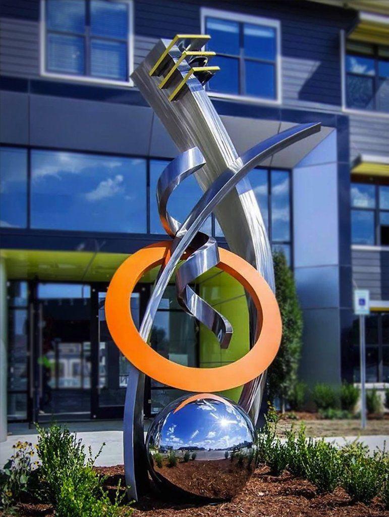 Legacy Steel Art Modern Sculpture Public Sculpture