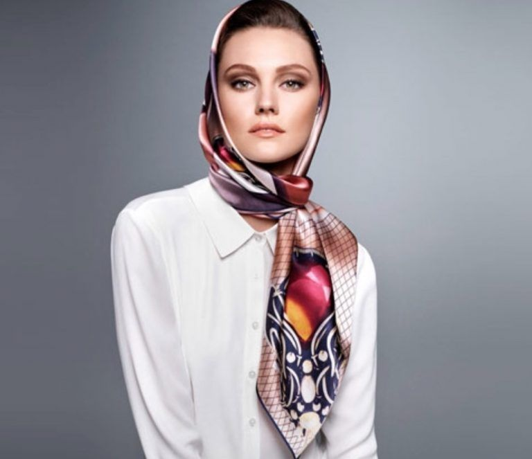 روسری و شال ترک و برندهای معروف ترکی در سال 1398 Ways To Wear A Scarf Scarf Styles Head Scarf