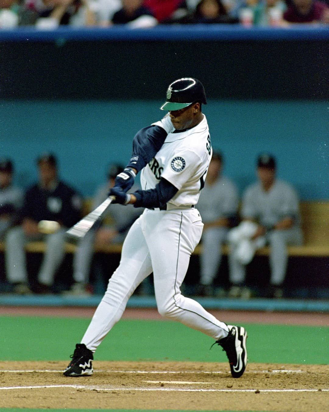 Mlb On Fox On Instagram The Definition Of A Perfect Swing Via Mlb In 2020 Major League Baseball Teams Seattle Sports Ken Griffey Jr
