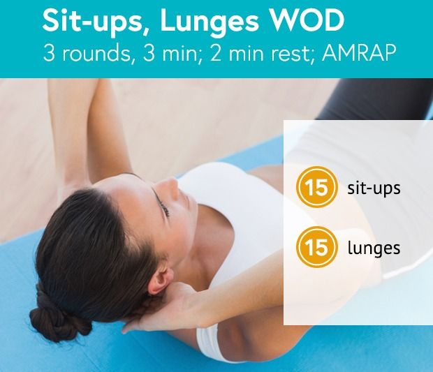 Sit-Ups & Lunges WOD