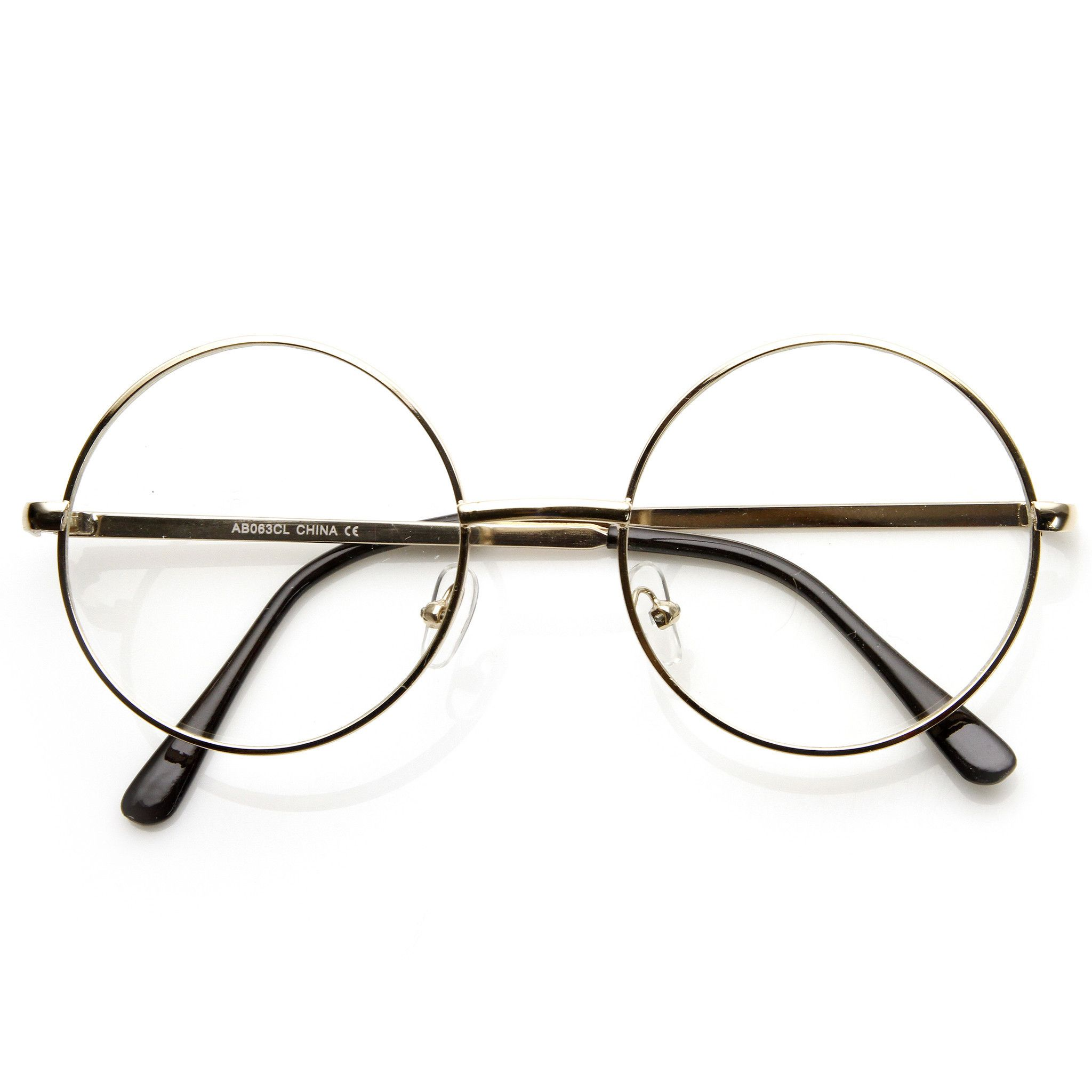 Costume Harry Potter Movie Novelty Clear Lens Glasses 9222