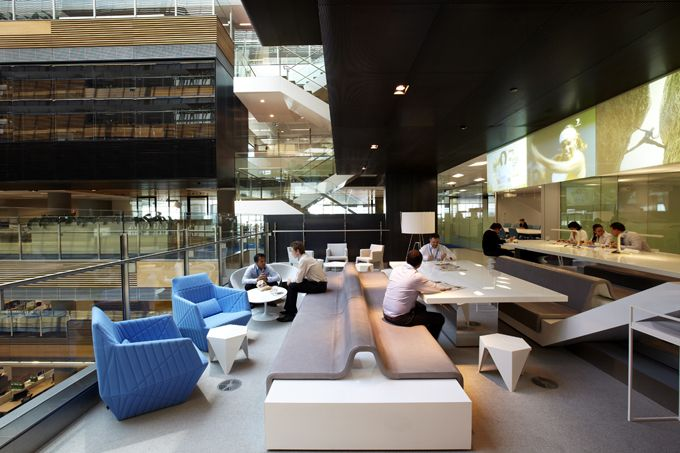 Inspiring Office Design Anz Melbourne Another Breakout Area The Worlds Best Interiors