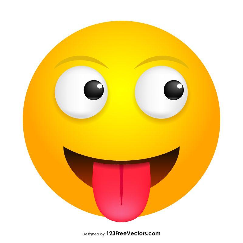 Tongue Smiley Clipart Smiley Clip Art Smiley Emoji