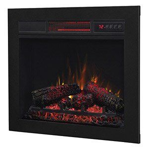 Built-In Electric Fireplaces, Fireboxes & Inserts