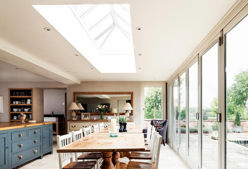 Small rooflight in kitchen as an alternative to Velux windows ...