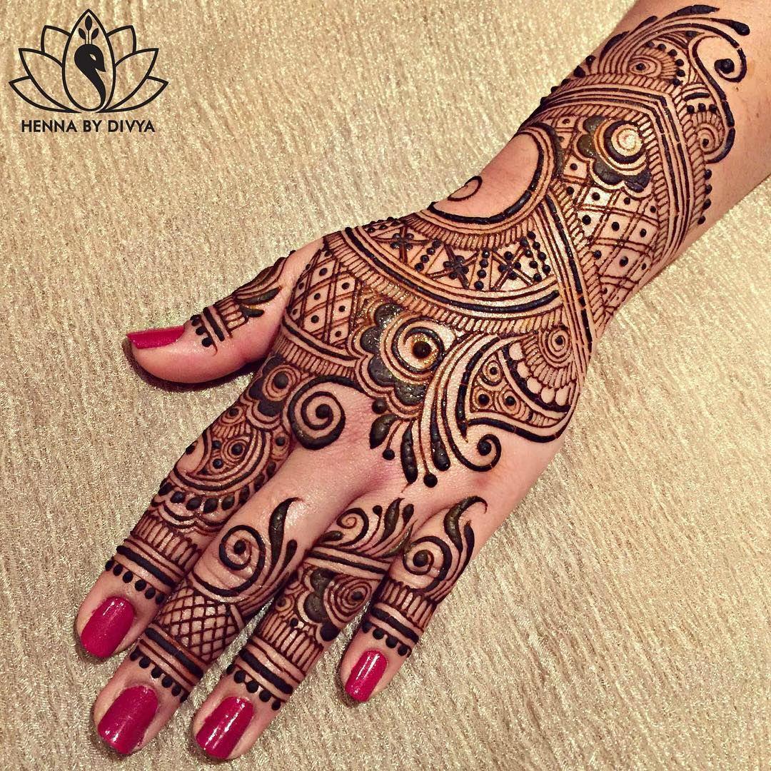 Mehndi Henna Mehndi Designs: Henna By Divya #henna #hennapro #hennabydivya #hennatattoo