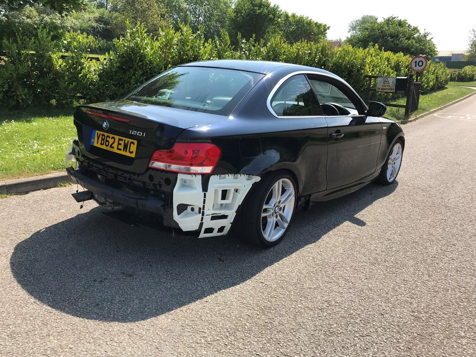 2013 bmw bmw 1 series coupe 120i m sport damaged repairable salvage