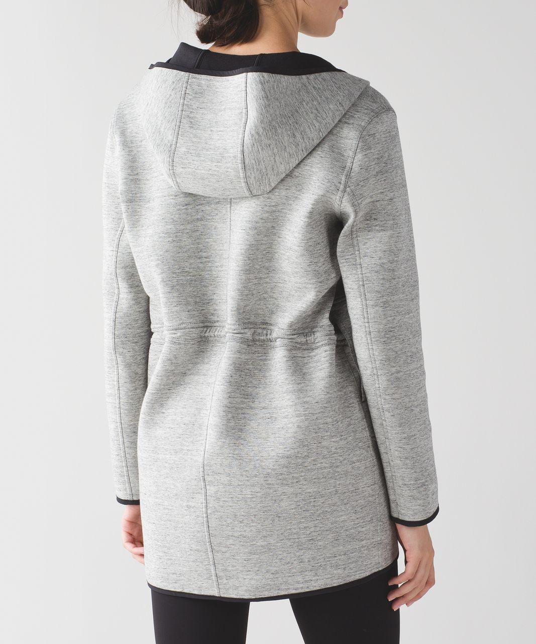 686334680fd71 Lululemon City Bound Wrap - Heathered Space Dyed Medium Grey / Black ...