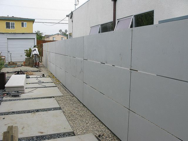 Design Cement Board : Hardy backer board fence fences and backyard