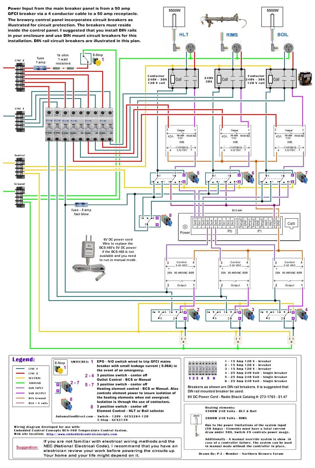 electric brewing diagrams [ 1079 x 1603 Pixel ]