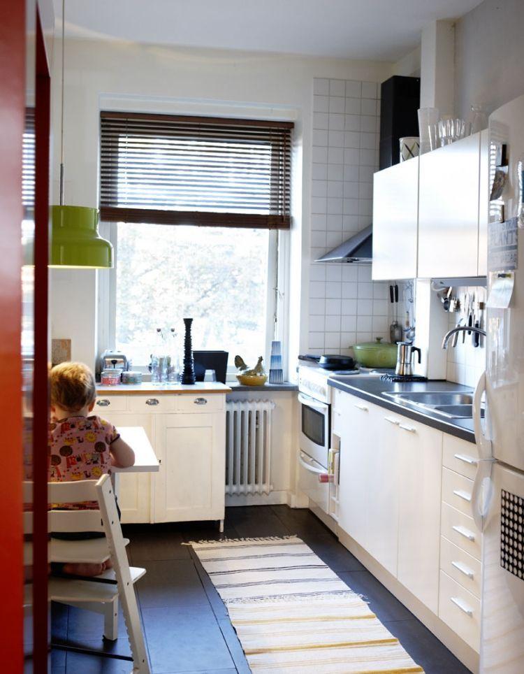 Kleine Küche mit Essplatz planen und gestalten ...