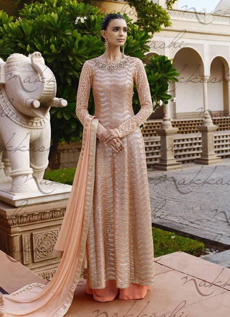 Link: http://www.areedahfashion.com/salwar-kameez&catalogs=ed-3035 Price range INR  7,278 to 10,918 Shipped worldwide within 7 days. Lowest price guaranteed.