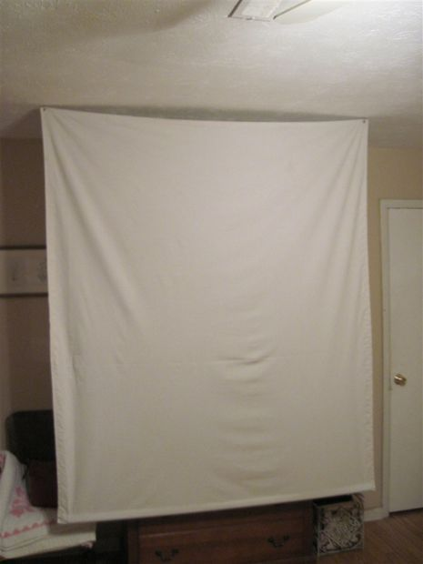 Cheap Portable Projector Screen