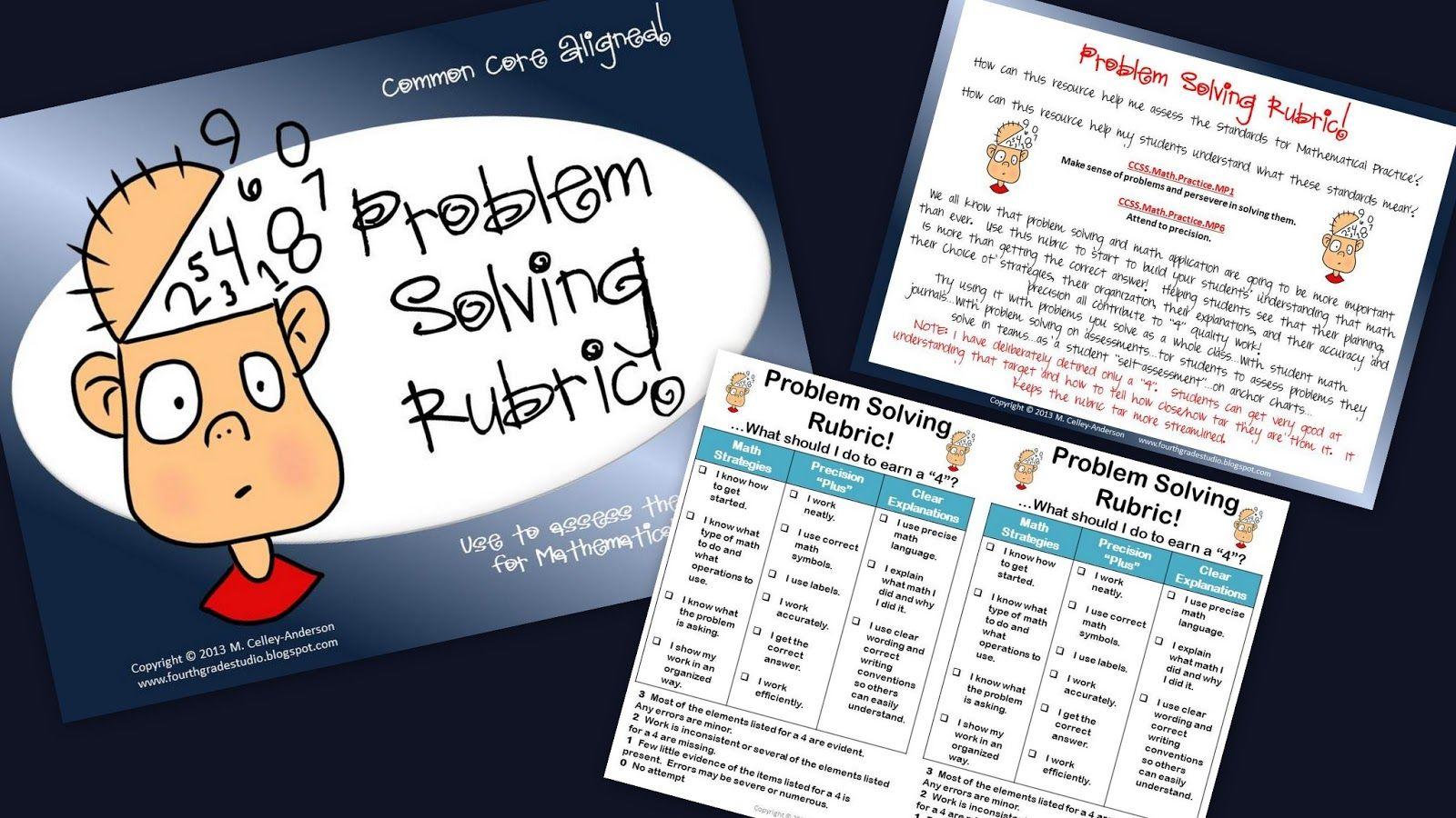 Math Problem Solving Rubric