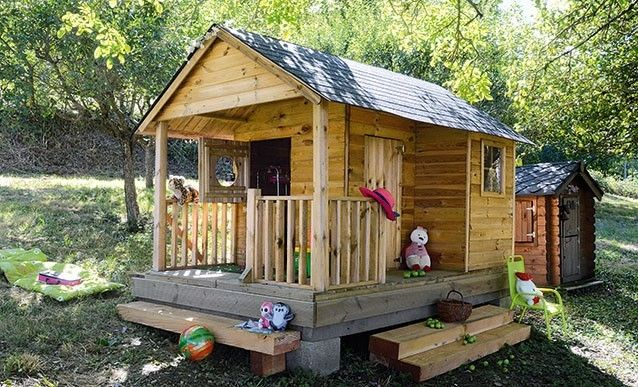 Comment construire une cabane en bois sur une pente ? - construire une cabane de jardin en bois