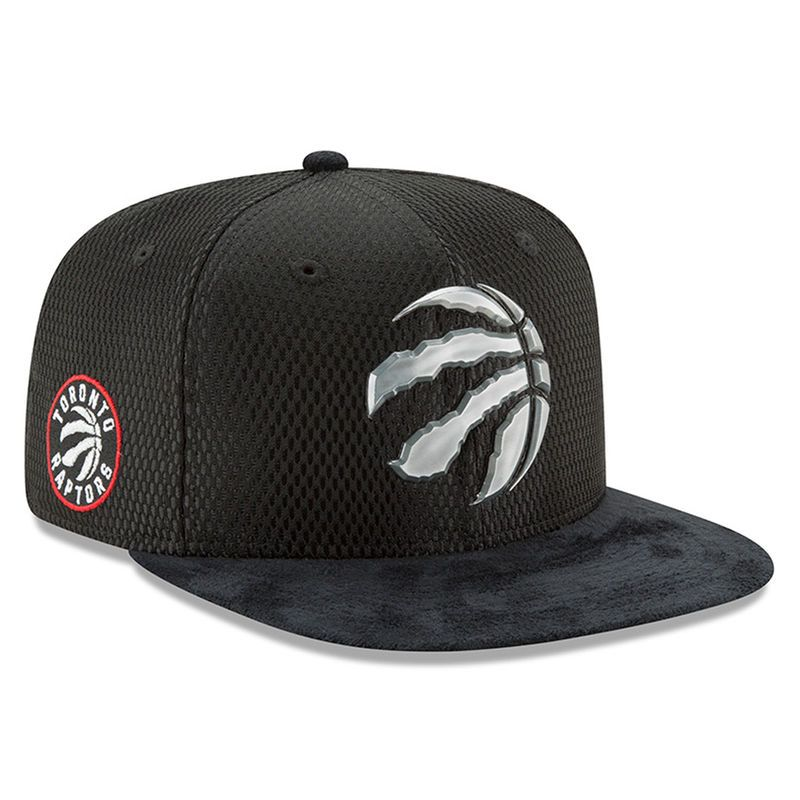 87286c81ce6 Toronto Raptors New Era 2017 NBA Draft Official On Court Collection 9FIFTY Snapback  Hat - Black