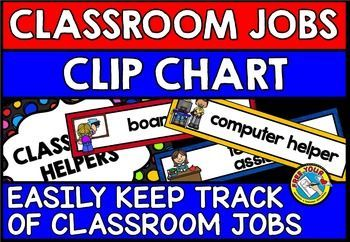 Keep track of classroom jobs/ classroom helpers by using this attractive and useful #classroom jobs clip chart. 39 classroom job choices are included in this resource! Simply print, laminate and choose the cards which are suited to your classroom.