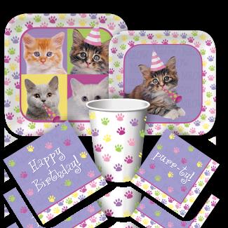 Kitten Party Supplies Birthday Discount