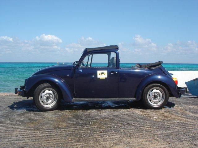 Take a step back in time and cruise Cozumel in a VW Buggy!