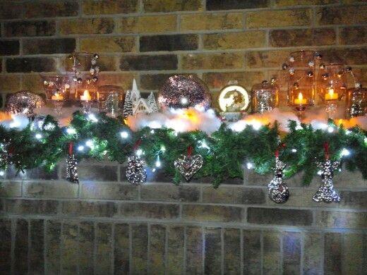 Holiday Mantle Decor