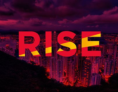 """Check out this @Behance project: """"RISE 2015 Branding"""" https://www.behance.net/gallery/28489925/RISE-2015-Branding"""