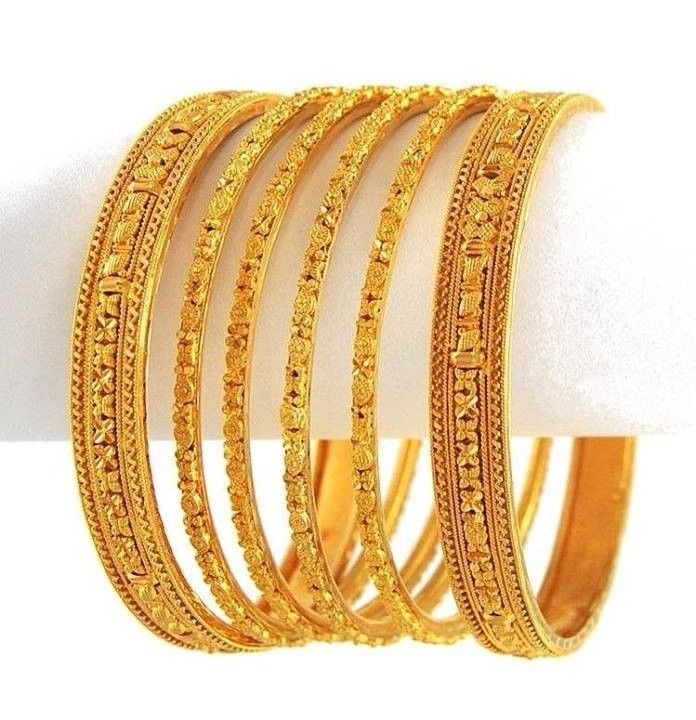 New Gold Bangle International Fashion Designs 2104 2 New Gold