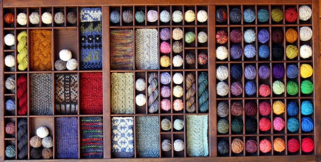 the knitting girl