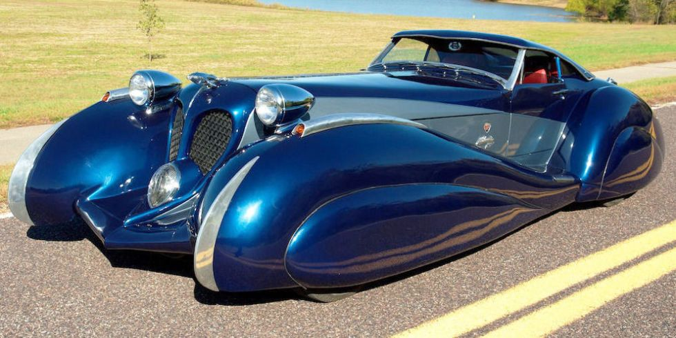 Rare And Ridiculous Ebay Cars You Have To See Art Deco Car Futuristic Cars Ebay Cars