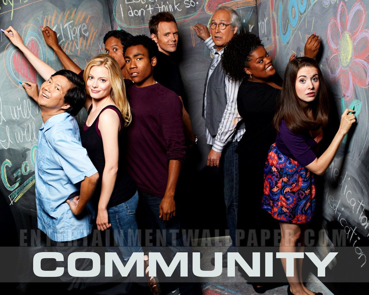 Comunity Tv Show Tagged With Community Hd Desktop Wallpapers