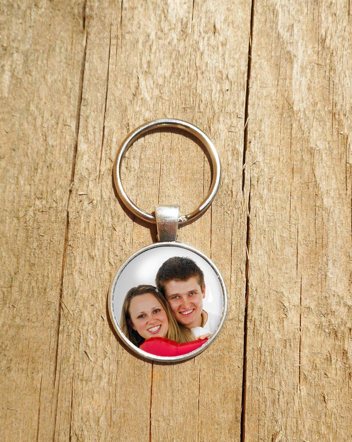 Fényképes kulcstartó, szülőköszöntő ajándék
