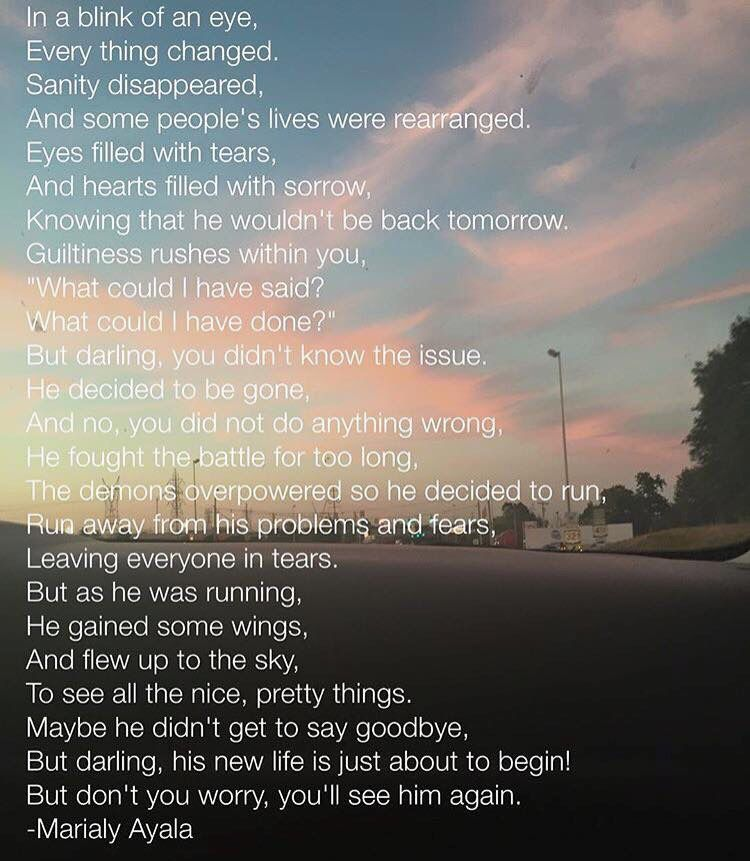 Suicide Poems And Quotes: I Only Have One Problem Woth This Poem And It's The Fact