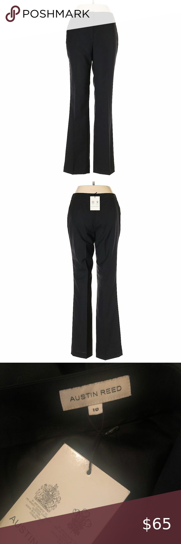 Austin Reed Black Wool Dress Trouser Austin Reed Black Wool Dress Trouser Nwt New With Tags These Are An Amazing Pair Of Dress Trousers Wool Dress Black Wool