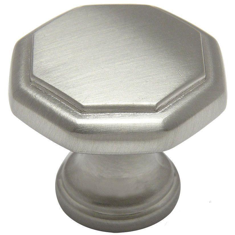Cosmas 5181sn Satin Nickel Cabinet