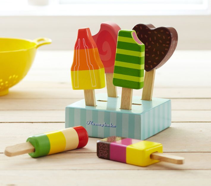 """That's My Letter: """"P"""" is for Popsicle Set...darling pretend popsicles!"""