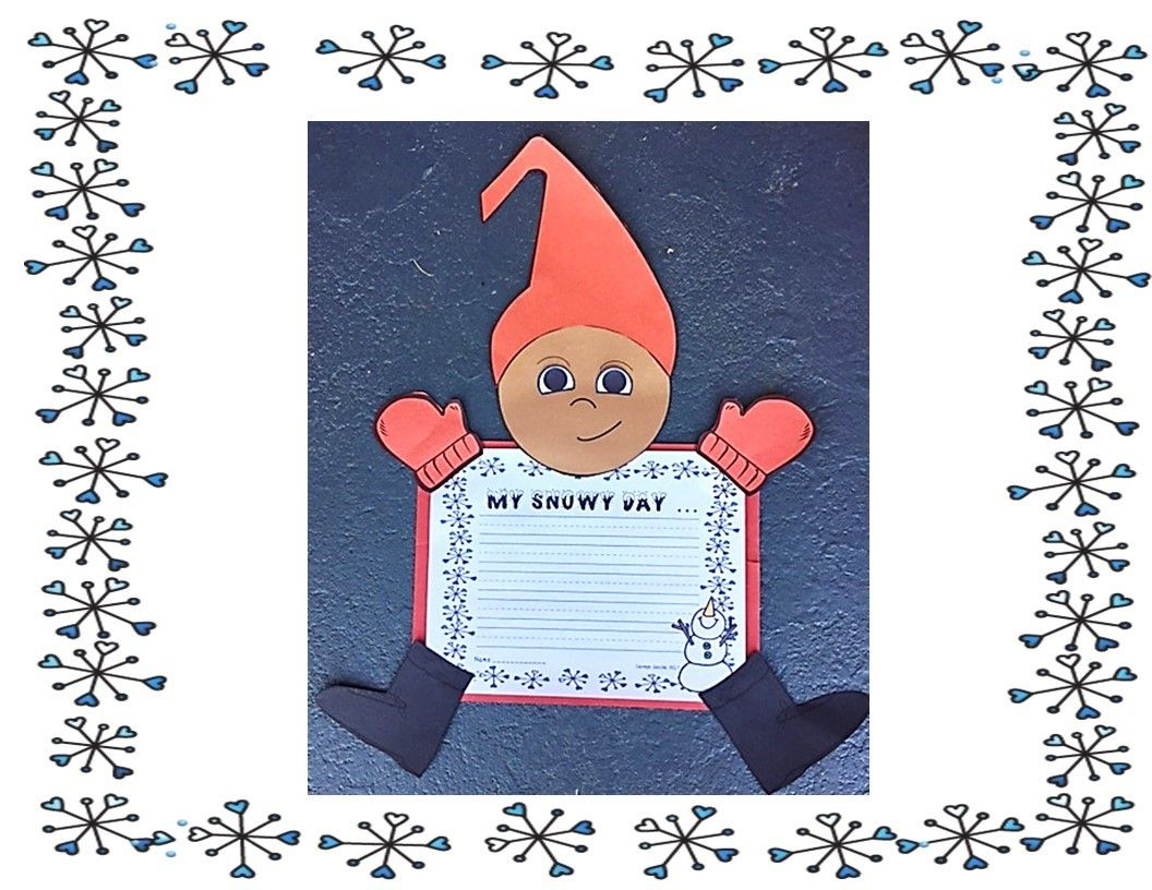 The Snowy Day By Ezra Jack Keats This Is A Writing Project