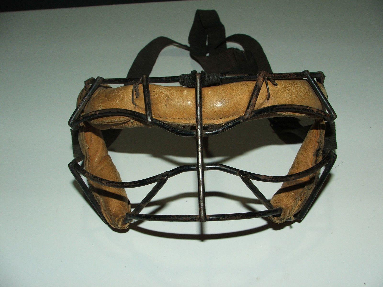 antique/vintage basketball/sports face mask, only