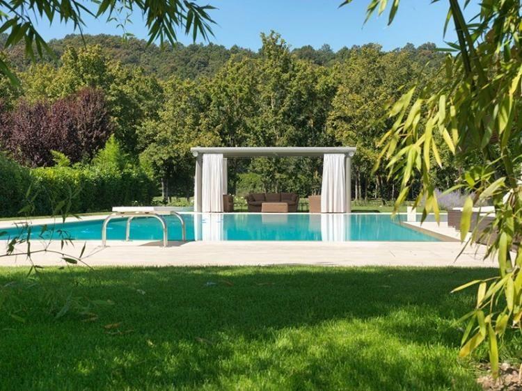 tonnelle de jardin design en acier galvanisé - modèle Tube par Cagis ...