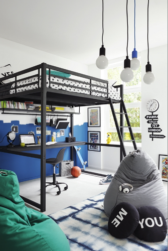 lit mezzanine ultra mat collection 2014 2014 chez fly. Black Bedroom Furniture Sets. Home Design Ideas