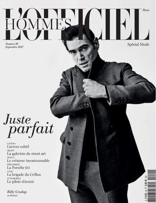 Lofficiel hommes paris septembre 2017