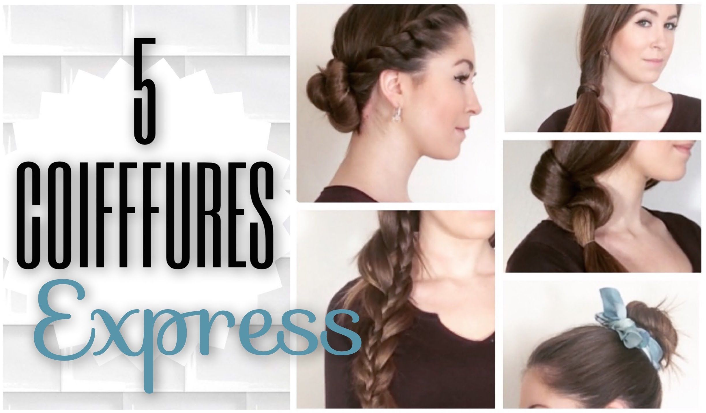 Epingle Par Marilina Vasapolli Sur Coiffure Coiffure Facile A Faire Coiffure Simple Cheveux Longs Coiffure Facile