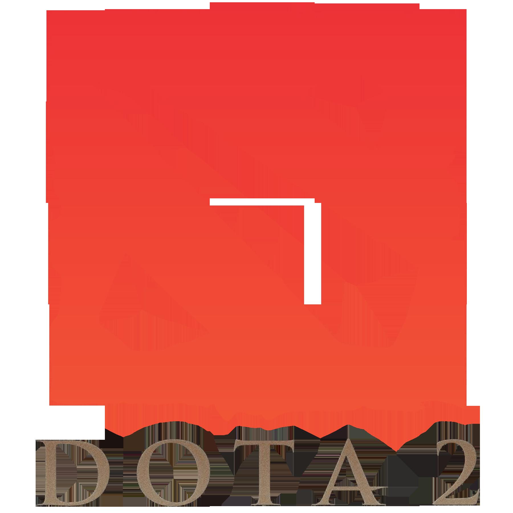 Dota 2 Logo vertical Seni, Desain, Stiker