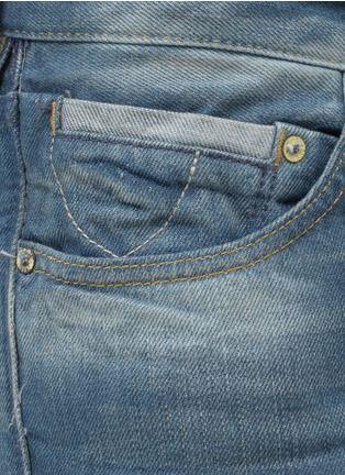 70001 Ralston Slim Fit Vintaged Washed Jeans Men Lane Crawford Shop Designer Brands Online Denim Pocket Denim Details Denim Inspiration