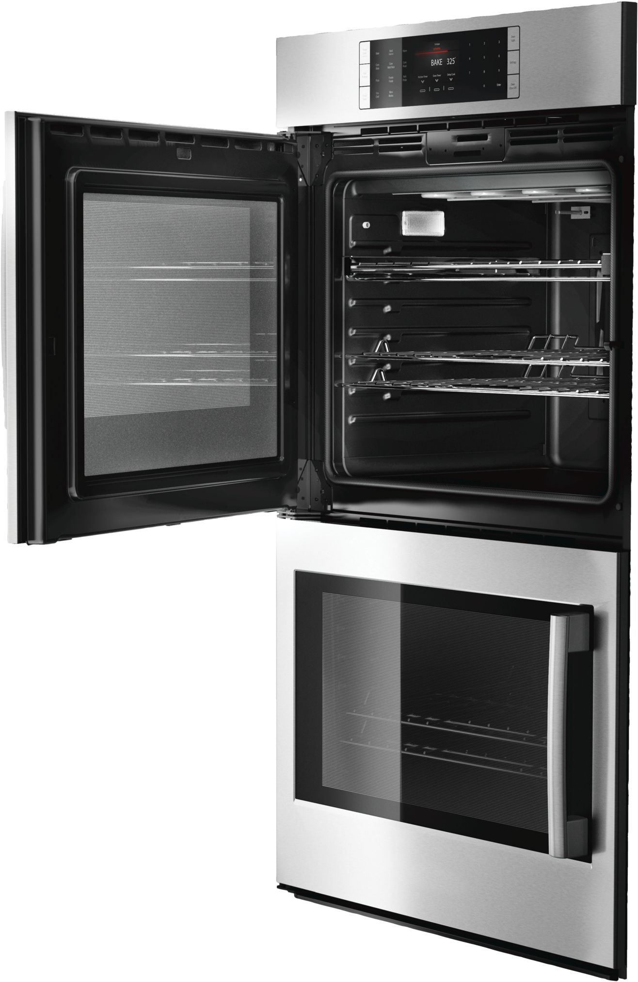 30 Double Wall Oven Left Sideopening Door Hblp651luc Stainless