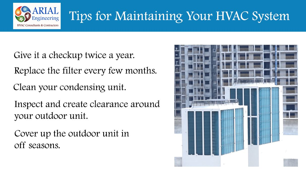 Five Ways To Extend The Life Of Your Hvac System Hvac Air