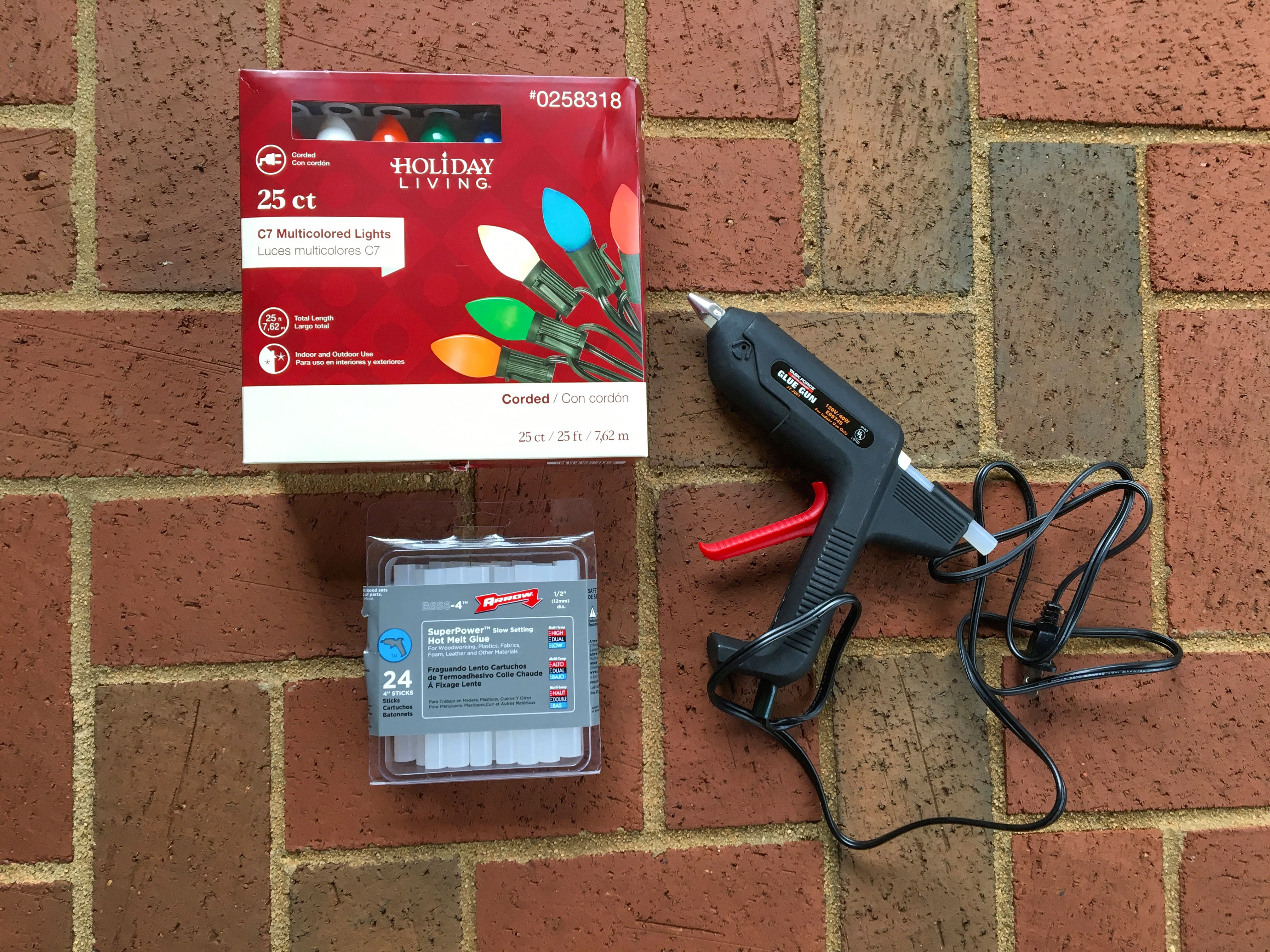 What Can I Use To Attach Christmas Lights To Brick simple know how: what you need and easy how to hang