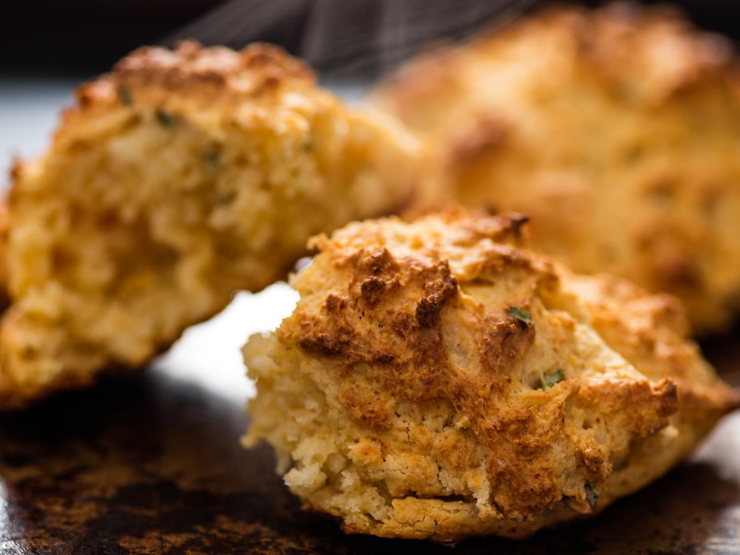Buttermilk Drop Biscuits With Garlic And Cheddar Recipe Recipe Drop Biscuits Buttermilk Drop Biscuits Drop Biscuits Recipe